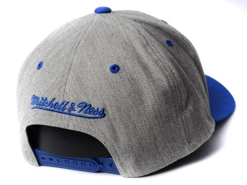 Mitchell & Ness INTL151 NBA San Francisco Warriors Snapback Cap - INTL151-SFWARR-GRYRYL