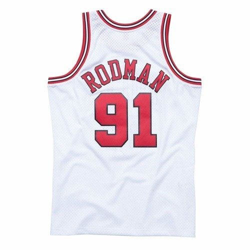 competitive price 0a1f4 90326 Mitchell & Ness NBA Chicago Bulls Dennis Rodman Swingman Jersey