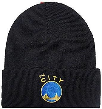 Mitchell & Ness NBA Golden State Warriors Team Logo Cuff Knit - EU785-SFWWAR