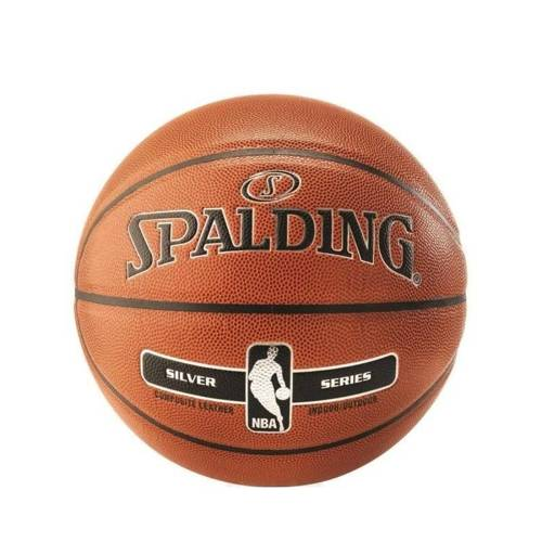 Spalding NBA Silver Basketball Indor-outdoor