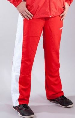 Spalding Poland Sweatpants red- white